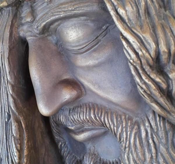 Particolare Volto di Cristo di Colagrossi