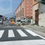 Riparata la falla in via De Gasperi