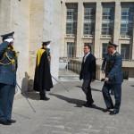 Visita del prefetto Faloni al Comando Provinciale della GdF