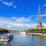 Parigi, Torre Eiffel lungo la Senna