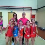 Ginnastica Ritmica, le giovani ginnaste Apriliane si distinguono a Roma