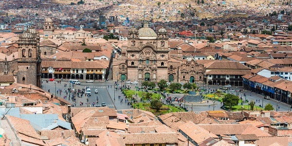 Cuzco, antica capitale Inca del Perù