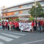 Nuovo flashmob in Piazza Roma contro la #buonascuola
