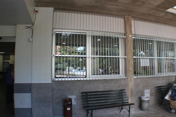 """La """"panoramica"""" dall'esterno del Bar della Clinica """"Città di Aprilia"""""""