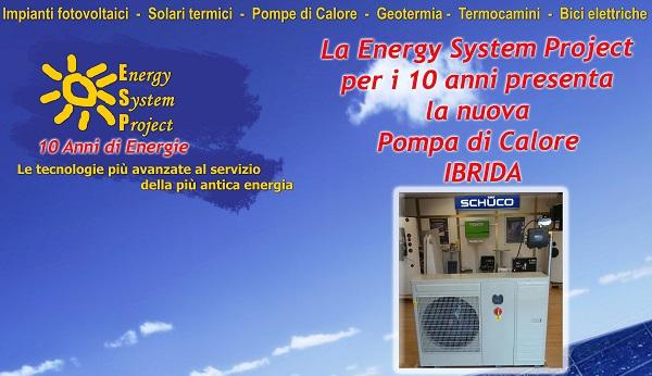 Pompa di Calore Ibrida ESP - 600