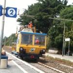 Campoleone, guasto alla linea elettrica