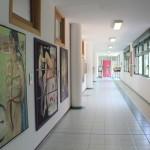 Artetika, il percorso della mostra al Liceo Meucci con il maestro Beccarisi