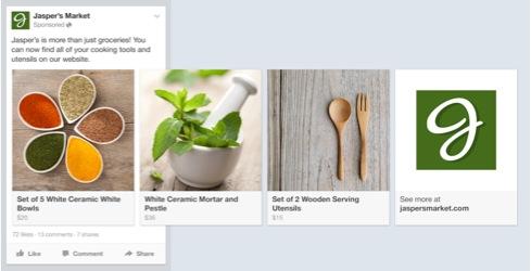 facebook immagini in sequenza