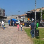 Pulizia solidale al Parco Manaresi
