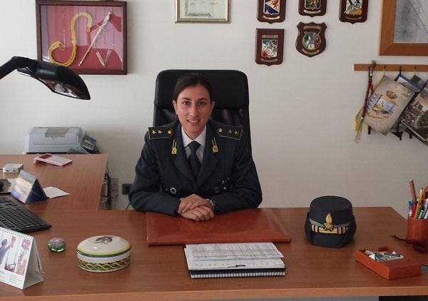 silvia bastici comandante gdf aprilia