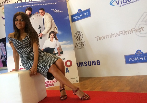 Manuela Muratore al  Taormina Film Fest