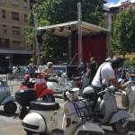 Il Vespa Club sfreccia tra i sapori apriliani
