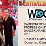 Campioni del Mondo di Danze Caraibiche