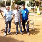 Nuova giostrina per disabili al Parco Friuli
