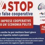 """Stop false cooperative"": la raccolta firme"