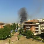 Incendio zona Nettunense, l'interrogazione dei Grillini