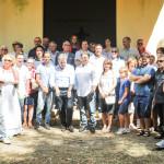 La commemorazione di Menotti Garibaldi a Carano