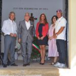 Una cerimonia in onore di Menotti Garibaldi