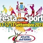Inizia oggi la Festa dello Sport: un fine settimana sportivo