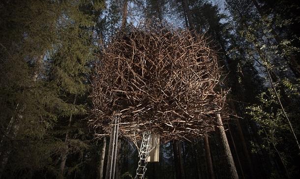 Nido di Uccello - Foto concessa da TreeHotel.se