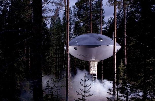 Ufo - Foto concessa da TreeHotel.se