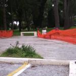 Giochi inutilizzabili al Parco dei Mille