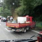 Incidente sulla Pontina: traffico a singhiozzo