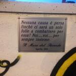 """""""Il Muro del Ricordo come monumento cittadino"""""""