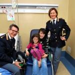 La Polizia incontra i bambini dell'Ospedale di Latina