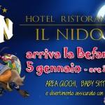 Befana a Il Nido Hotel Ristorante