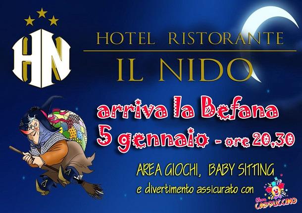 Befana A Il Nido Hotel Ristorante News Di Aprilia In Tempo Reale