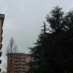 Pioggia in arrivo sulla città di Aprilia