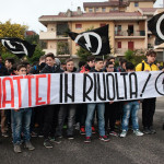 Gli studenti dell'IPSIA Mattei di nuovo in sit-in per i laboratori