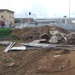 Nettunense: segnali stradali abbandonati