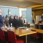 Il Consiglio Comunale omaggia le vittime di Bruxelles