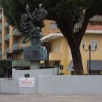 """""""Piazza Roma non sarebbe la stessa senza la scultura """"Evoluzione"""""""