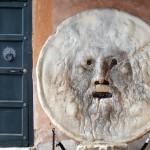 La leggendaria Bocca della Verità di Roma