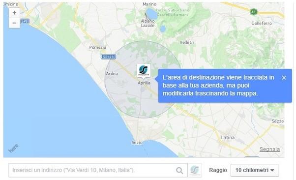 raggiungi le persone vicine facebook