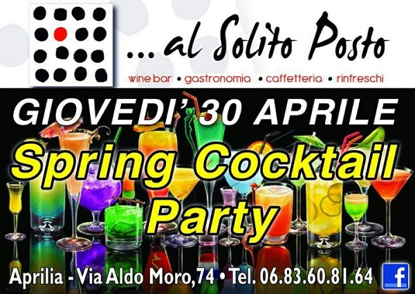 spring cocktail party aprilia