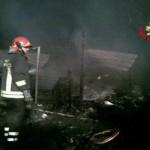Incendio nella notte di La Gogna: nessuna vittima