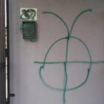 Incubo vandali: scritte anche sul Centro Anziani di Toscanini