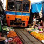 L'incredibile Maeklong Railway Market