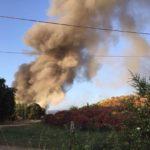 Discarica di Cecchina in fiamme: i rifiuti ad Aprilia?