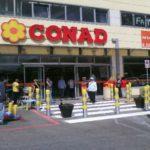 Riapre il punto vendita Conad in via La Malfa