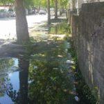 Due perdite di acqua in pochi metri