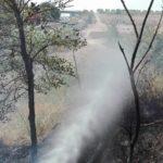 Incendio alla Capanna Murata: quasi tre ore di intervento per l'Alfa