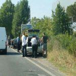 Tamponamento e traffico a rilento sulla Nettunense