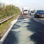 Scontro tra auto e mezzo pesante: rallentamenti in mattinata sulla Pontina