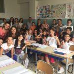 Prosegue il tour scolastico dell'Assessore all'Istruzione