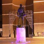Campagna Nastro Rosa: la statua di San Michele tornerà ad illuminarsi di rosa